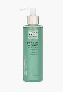 Пенка для умывания Seventeen Seventeen. Очищающая с маслом чайного дерева Clear Skin Foaming Gel Cleanser, 200 мл