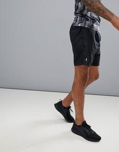 Черные шорты для бега New Look SPORT - Черный