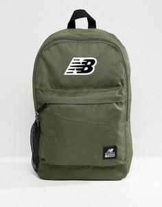 Зеленый рюкзак с логотипом New Balance 500387-363 - Зеленый