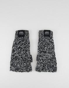 Перчатки без пальцев Cheap Monday - Белый