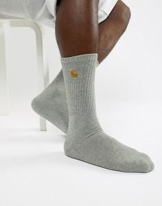 Серые носки Carhartt WIP Chase - Серый