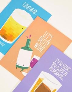 3 открытки Jolly Awesome - Мульти