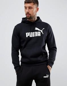 Худи черного цвета Puma Essentials 85174301 - Черный