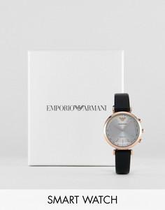 Гибридные смарт-часы Emporio Armani ART3027 Gianni Connected - Черный