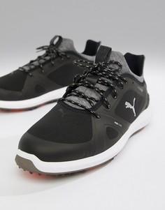 Черные кроссовки с шипами Puma Golf Ignite - Черный