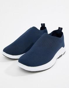 Темно-синие трикотажные кроссовки Loyalty & Faith - Темно-синий