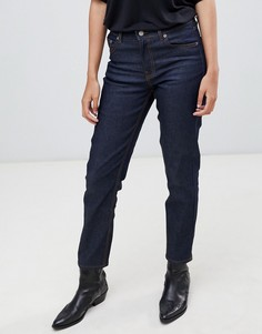 Узкие джинсы в винтажном стиле с завышенной талией Dr Denim - Синий