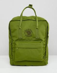 Зеленый рюкзак Fjallraven Re-Kanken 16 л - Зеленый
