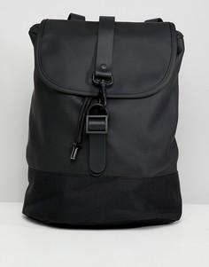 Рюкзак с затягивающимся шнурком Rains - Черный