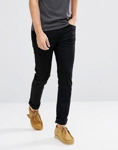 Черные суженные книзу джинсы Nudie Jeans Co Fearless Freddie - Черный