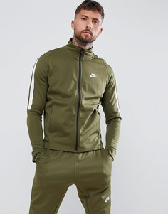 Зеленая спортивная куртка Nike Tribute 861648-395 - Зеленый