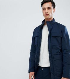 Куртка с утеплителем Thinsulate и карманом для гаджетов Selected Homme - Темно-синий