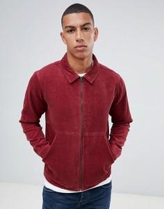 Вельветовая куртка на молнии Another Influence - Красный
