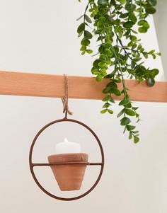 Подвесной керамический цветочный горшок Ian Snow - Мульти