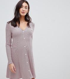 Чайное платье в полоску на пуговицах ASOS DESIGN Maternity - Мульти