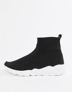 Черные трикотажные кроссовки Loyalty & Faith - Черный