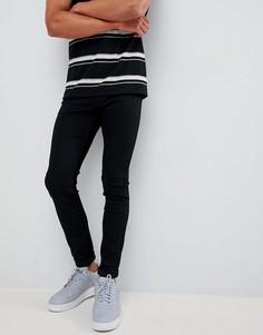 Черные зауженные джинсы Lee Jeans Malone - Черный