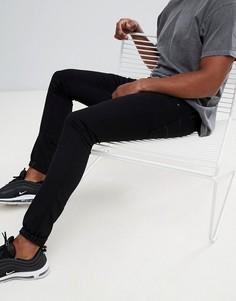 Черные суперузкие джинсы G-Star Beraw 3301 - Черный