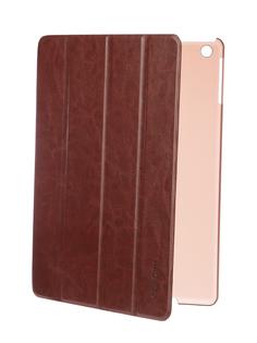 Аксессуар Чехол Gurdini Slim для APPLE iPad Air / iPad New 2017-2018 Eco кожа Brown 520047