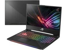 Ноутбук ASUS ROG GL504GM 90NR00K1-M02810 Black (Intel Core i7-8750H 2.2 GHz/16384Mb/1000Gb + 256Gb SSD/No ODD/nVidia GeForce GTX 1060 6144Mb/Wi-Fi/Cam/15.6/1920x1080/Windows 10 64-bit)