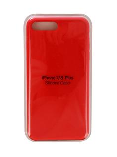 Аксессуар Чехол Innovation Silicone Case для APPLE iPhone 7 Plus/8 Plus Red 10276