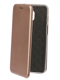 Аксессуар Чехол-книга для Meizu M6S Innovation Book Silicone Rose Gold 12441