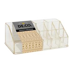 Органайзер для косметики и аксессуаров DE.CO. rose gold открытый малый Deco