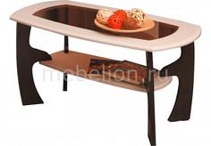 Стол журнальный Маджеста-3 1288527 венге/клен азия Олимп мебель