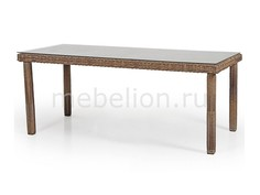 Стол обеденный Catherine 5546-62 коричневый Brafab