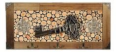Настенная вешалка (52х23 см) Ключ 314-6 Акита