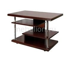 Стол журнальный Комфорт-3 средне-коричневый Мебелик