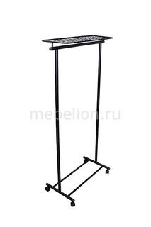 Вешалка гардеробная М-9 черный Мебелик