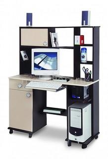 Стол компьютерный Костер-6 5210-06 венге/клен Олимп мебель