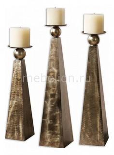 Набор из 3 подсвечников декоративных Cesano 19652 Uttermost