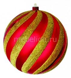 Елочный шар (20 см) карамель 502-068 Неон Найт