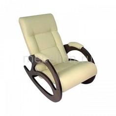 Кресло-качалка Тенария 1 слоновая кость Мебелик