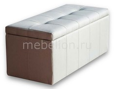 Банкетка-сундук Лонг светло-бежевая Dreambag