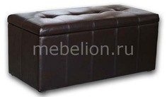 Банкетка-сундук Лонг коричневая Dreambag