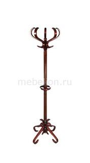 Вешалка-стойка В-10Н махагон Мебелик