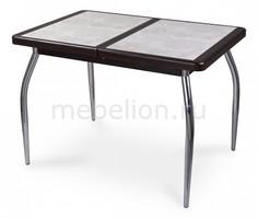 Стол обеденный Шарди ПР с плиткой и мозаикой Домотека