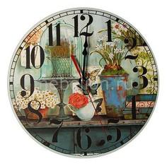 Настенные часы (30 см) C452 Акита