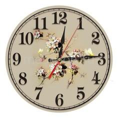 Настенные часы (30 см) Яблоня AC30 Акита