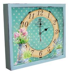 Настенные часы (34х30 см) Кувшин с цветами 3034-4 Акита
