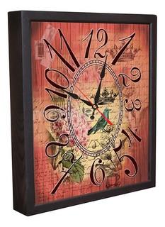 Настенные часы (34х30 см) Винтаж 3034-16 Акита