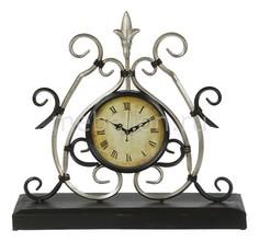 Настольные часы (36х34 см) Каминные L21387 Акита