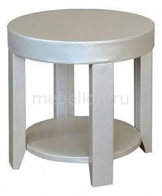 Стол журнальный Сакура 1 слоновая кость Мебелик