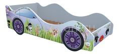 Кровать-машина Собачки M068 Кровати машины