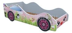 Кровать-машина Собачки на лужайке M063 Кровати машины