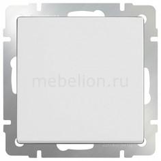 Выключатель одноклавишный без рамки Белый WL01-SW-1G Werkel