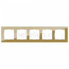 Рамка на 5 постов Favorit WL01-Frame-05 Werkel